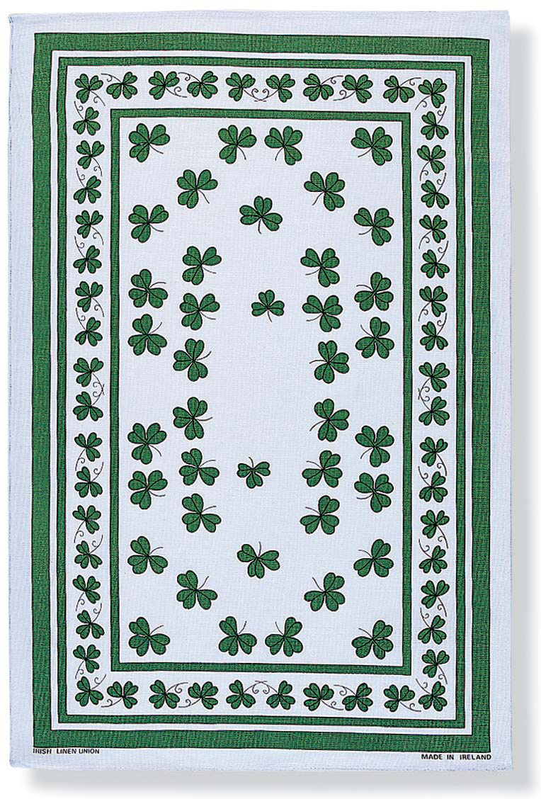 Tea Towel - Shamrocks