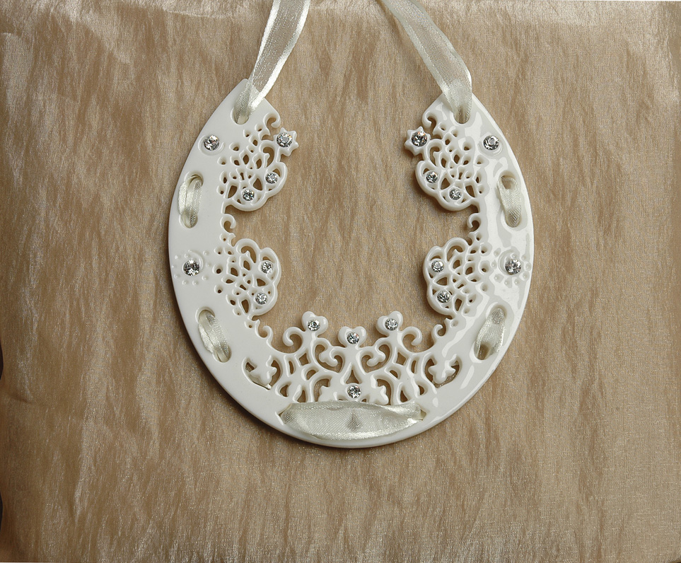 Horseshoe Porcelain Decoration