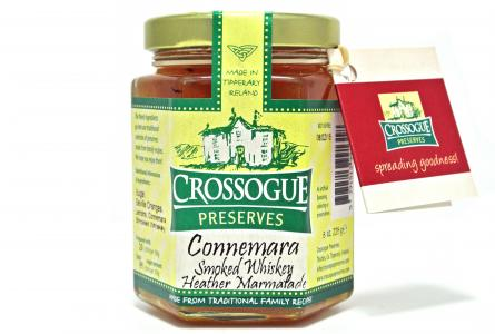 Crossogue Connemara Smoked Whiskey Heather Marmalade 225g