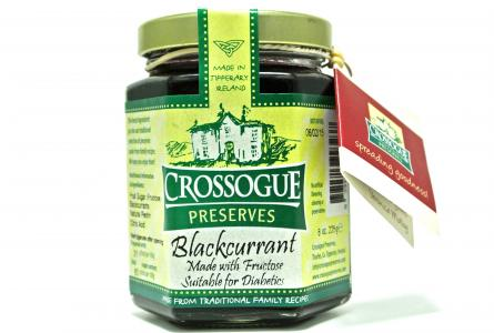 Crossogue Diabetic Blackcurrant Preserve 225g