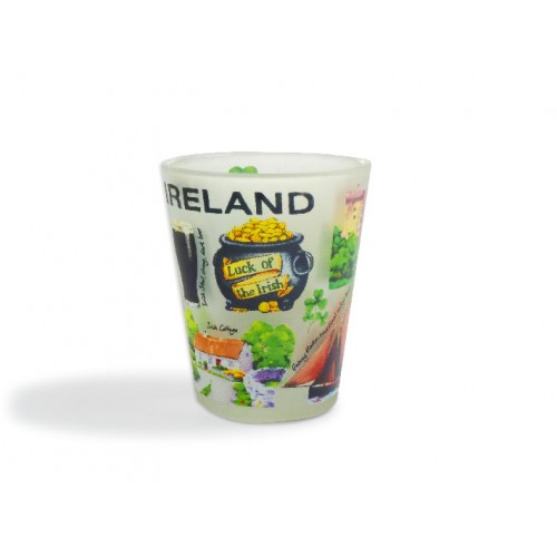 Iconic Ireland Frosted Shotglass