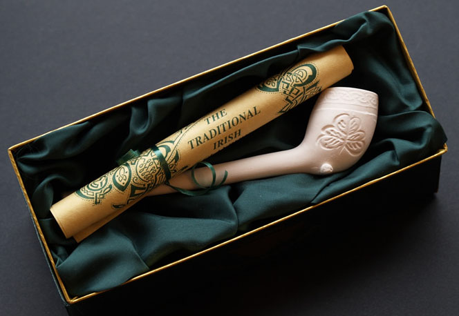 An Irish Handmade Clay Pipe