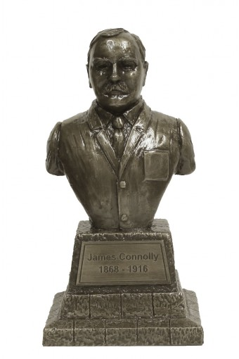 James Connolly Bronze Bust 7.6""