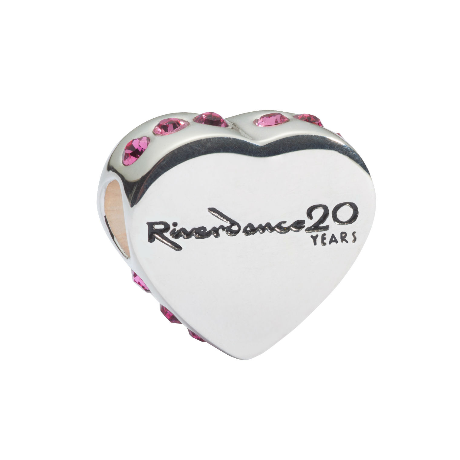 "Official Riverdance Jewelry Love ""Heart"" Shaped Bead"