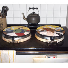 Oblong & Round Hob Covers