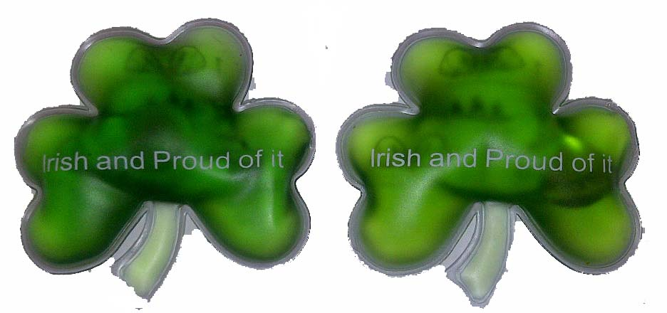 Irish Shamrock Hand Warmers