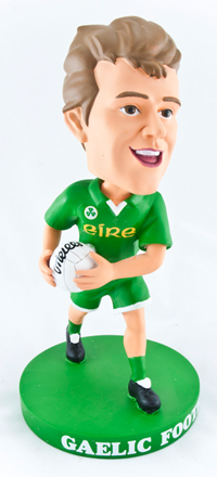 Eire Gaelic Football Bobblehead Figurine | Irish Sport